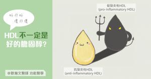 功能醫學 HDL