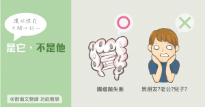 功能醫學 經前症候群