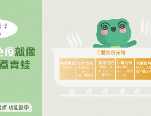 自體免疫疾病就像溫水煮青蛙