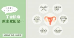 功能醫學 歐瀚文 子宮肌瘤