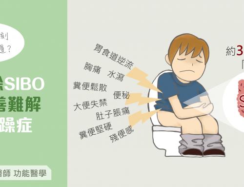 根除SIBO 改善難解腸躁症